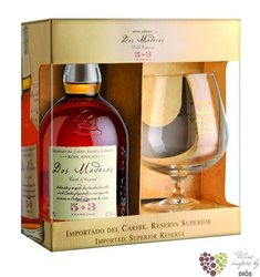 "Dos Maderas "" PX 5 + 3 "" glass set Caribbean rum by Williams & Humbert 40% vol.0.70 l"
