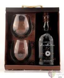 "Dos Maderas "" PX 5 + 5 "" 2glass set Caribbean rum by Williams & Humbert 40% vol.  0.70 l"