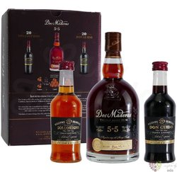 """Dos Maderas """" PX 5 + 5 """" Sherry set Caribbean rum by Williams & Humbert 40% vol.  0.75+2x0.20 l"""