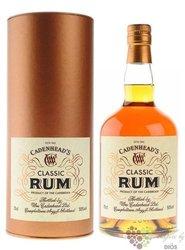 "Cadenhead´s "" Classic "" aged Caribbean rum 50% vol.    0.70 l"