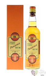 "Cadenhead´s "" Green label "" aged 15 years Panamas rum 46% vol.    0.70 l"
