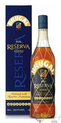 "Brugal "" Aňejo Reserva "" gift box rum of Dominican republic 38% vol.  1.00 l"