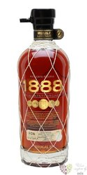 "Brugal "" 1888 Grand reserva "" aged rum of Dominican republic 38% vol.  0.70 l"