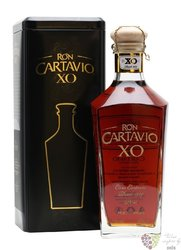 "Cartavio XO "" 80 Anniversario 1929 "" metal box rum of Peru 40% vol.     0.70 l"