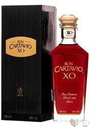 "Cartavio "" XO "" aged 18 years Peruan rum 40% vol.  0.70 l"