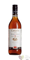 "Cartavio 1929 "" Grand reserva 7 aňos "" aged 7 years rum of Peru 38% vol.  0.70 l"
