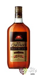 """Cartavio """" Gran Black """" dark rum of Peru 40% vol.  0.70 l"""