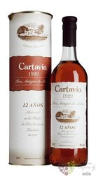"Cartavio 1929 "" Antiguo de Solera "" aged 12 years rum of Peru 40% vol.  0.70 l"