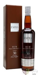 "Zafra "" Master Reserve "" aged 30 years in Bourbon cask rum of Panama 40% vol. 0.70 l"