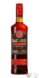 """Bacardi """" Carta Fuego """" red spiced Cuban rum 40% vol.  1.00 l"""