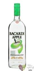 """Bacardi """" Apple """" flavoured Puerto Rican rum 35% vol.     1.00 l"""