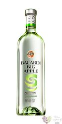 "Bacardi "" Big apple "" flavoured Puerto Rican rum 35% vol.     1.00 l"