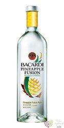 """Bacardi """" Pineapple fusion """" flavored Cuban rum 32% vol   1.00 l"""