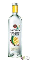 """Bacardi """" Pineapple fusion """" flavored Cuban rum 32% vol    0.70 l"""