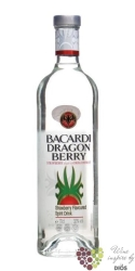 "Bacardi "" Dragon berry "" fruits flavoured Cuban rum 32% vol    0.70 l"