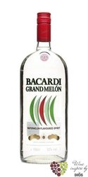 "Bacardi "" Grand Melon "" flavored Puerto Rican rum 35% vol.  0.05 l"