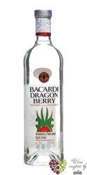 "Bacardi "" Dragon berry "" fruits flavored Cuban rum 35% vol.  0.05 l"