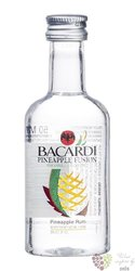 "Bacardi "" Pineapple "" flavored Puerto Rican rum 35% vol.  0.05 l"