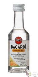 "Bacardi "" Tangerine "" flavored Puerto Rican rum 35% vol.  0.05 l"