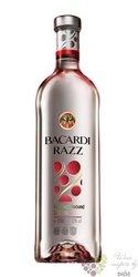 "Bacardi "" Razz "" raspberry flavored Cuban spirit drnk 35% vol.  1.00 l"