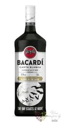 "Bacardi "" Carta blanca Glows in the dark "" Cuban rum 37.5% vol.  1.50 l"