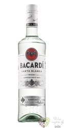 "Bacardi "" Carta blanca "" white Cuban rum 40% vol.   0.70 l"