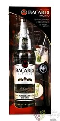 "Bacardi "" Mojito Pack "" white Puerto Rican rum 37.5% vol.    0.70 l"
