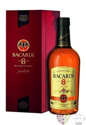 "Bacardi Reserva "" Superior "" luxury box aged 8 years Cuban rum 40% vol.  1.00 l"