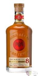 """Bacardi Gran reserva """" Ocho """" aged 8 years Cuban rum 40% vol.  0.70 l"""