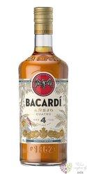 "Bacardi aňejo "" Cuatro "" aged 4 years Puerto Rican rum 40% vol.  0.70 l"