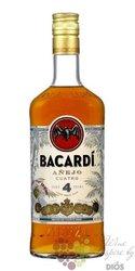 "Bacardi aňejo "" Cuatro "" aged 4 years Puerto Rican rum 40% vol.  1.00 l"
