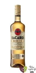 """Bacardi """" Carta Oro """" aged Cuban rum 40% vol.   0.05 l"""