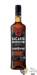 "Bacardi "" Carta Negra "" aged Cuban rum 40% vol.   1.00 l"