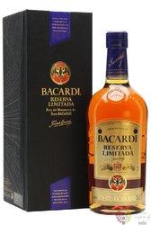"Bacardi Reserva "" Limitada "" aged Cuban rum 40% vol.  1.00 l"