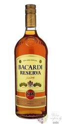 "Bacardi "" Reserva "" aged Cuban rum 40% vol.  1.00 l"