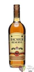 "Bacardi "" Reserva "" aged Cuban rum 40% vol.  0.70 l"