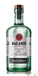 "Bacardi Grand reserva "" Maestro de ron "" premium white Cuban rum 40% vol.    1.00 l"