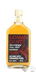"""El Comandante """" 151 Proof """" overproof Caribbean rum 75.5% vol.  0.50 l"""