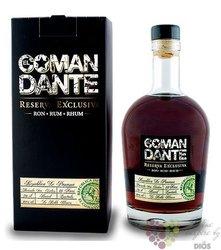 "El Comandante "" Reserva exclusiva "" aged Panamas rum 40% vol.  0.70 l"