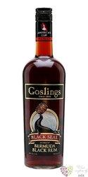 """Gosling´s """" Black Seal 80 proof """" black rum of Bermudy 40% vol.  1.00 l"""