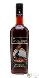 "Gosling´s "" Black Seal 80 Proof "" black rum of Bermudy 40% vol.    0.70 l"