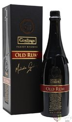 "Gosling´s "" Familly Reserve batch II  "" rum of Bermudy 40% vol.  0.70 l"