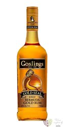 "Gosling´s "" Gold "" flavored rum of Bermudy 40% vol.    0.70 l"