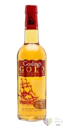 "Gosling´s "" Gold "" flavored rum of Bermudy 40% vol.  1.00 l"