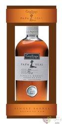 """Gosling´s Single barrel """" Papa Seal """" unique Bermudas rum 41.5% vol.  0.70 l"""