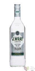 "J.Wray "" Silver "" white Jamaican rum 40% vol.  1.00 l"
