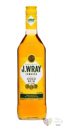 "J.Wray "" Gold "" white Jamaican rum 40% vol.  0.70 l"