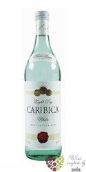 Caribica Light dry white caribbean rum 37.5% vol.    0.70 l