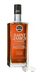 "Saint James agricole vieux "" Millesime 2000 "" vintage rum of Martinique 43% vol.1.00 l"
