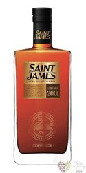 "Saint James agricole vieux "" Millesime "" 2001 vintage rum of Martinique 43% vol. 0.70 l"